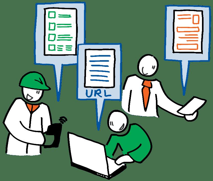 gebruikers aan de slag