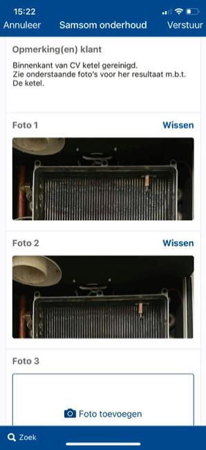 Klant voorbeeld 6 Werkbon