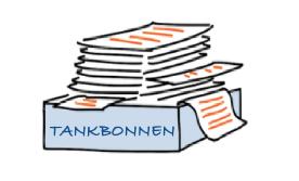 Tankbonnen-Kilometerregistratie